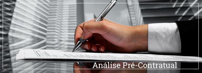 A importância da análise pré-contratual