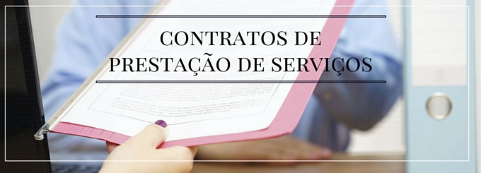 Qual a importância da formalização de contratos de prestação de serviços