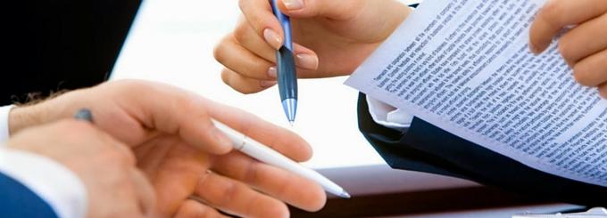 formalização de contratos de prestação de serviços